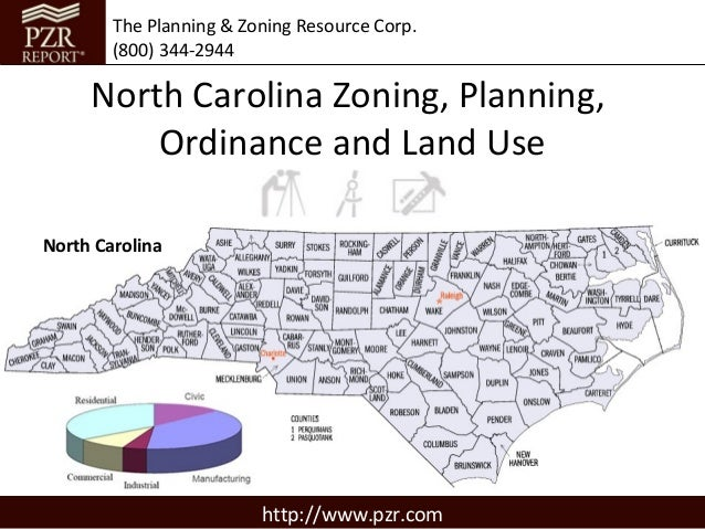 North Carolina Zoning, Planning, Ordinance and Land Use