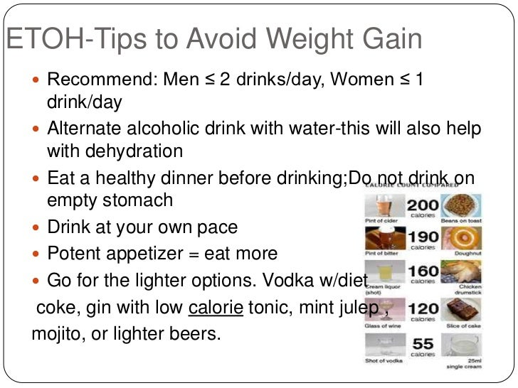 Weight Gaining Tips For Men Etoh-tips to Avoid Weight Gain