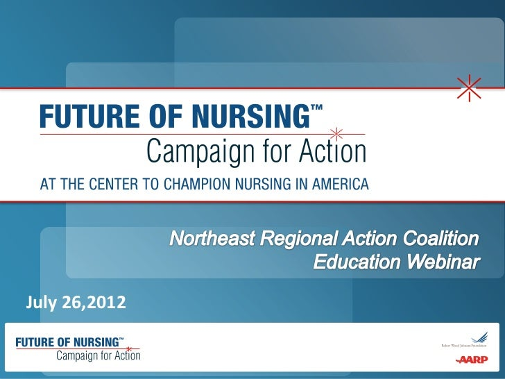 Northeast Regional Action Coalition Education Webinar