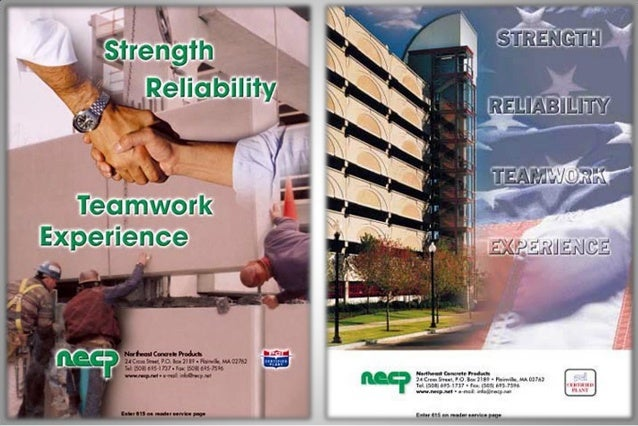 Northeast Concrete Products     Client Focused     Conscientious     Diversified     Experienced     Aggressive     ...