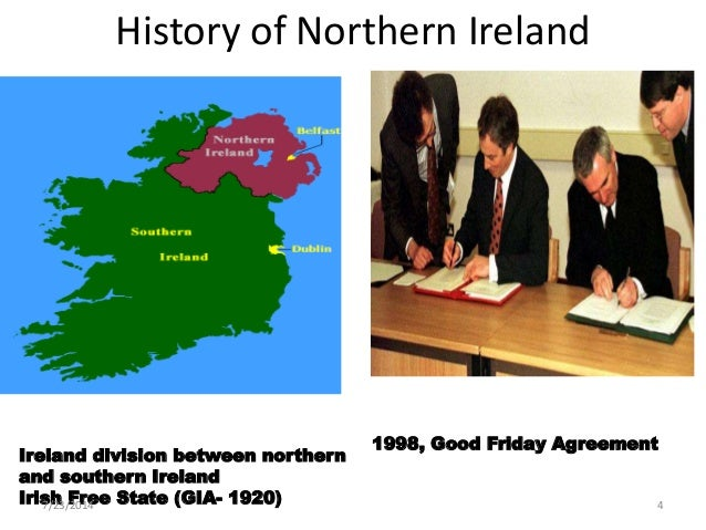 the good friday agreement Good friday agreement: good friday agreement, accord reached on april 10, 1998, and ratified in both ireland and northern ireland by popular vote on may 22 that called for devolved government in northern ireland.