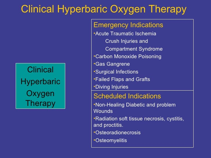 Northern nevada hyperbarics oxygen therapy powerpoint for Table 6 hyperbaric treatment
