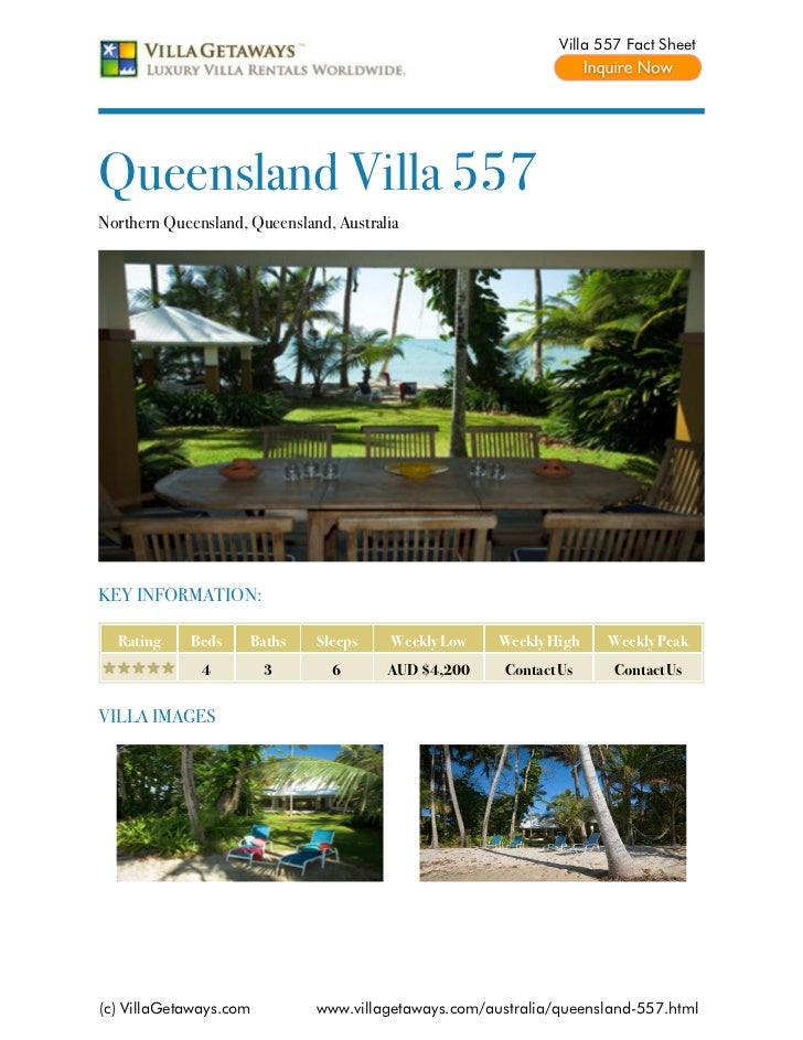 Northern queensland villa 557