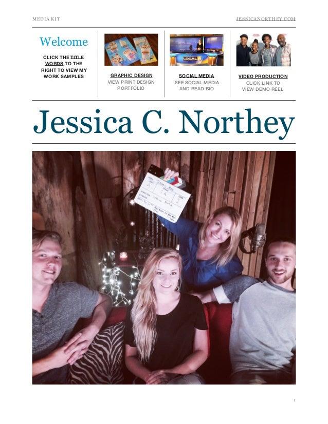 Jessica C. Northey Media Kit