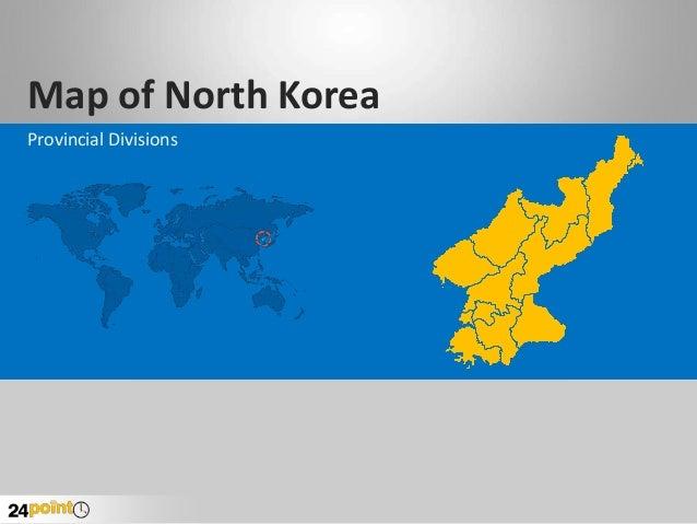 North Korea Map - Fully Editable PowerPoint