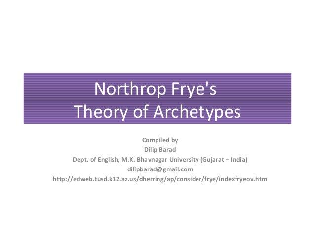 northrop frye archetypes of literature essay