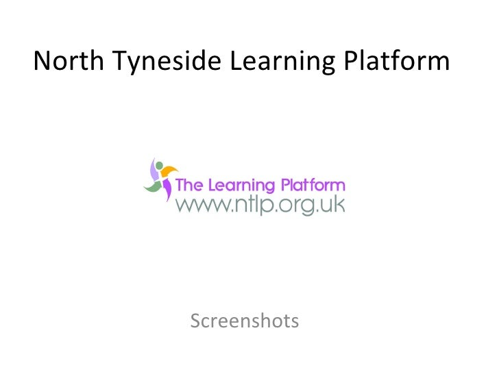 North Tyneside Learning Platform Screenshots