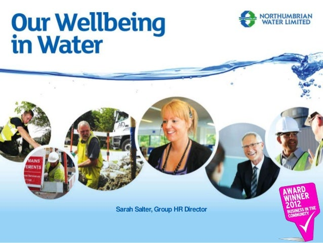 Northumbrian Water 9th may