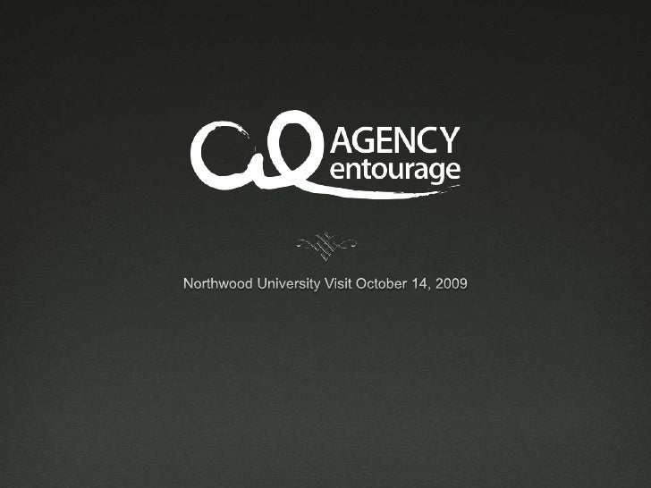 Northwood University Visit October 14, 2009<br />