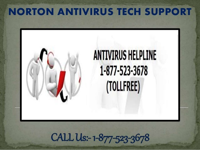NORTON ANTIVIRUS TECH SUPPORT