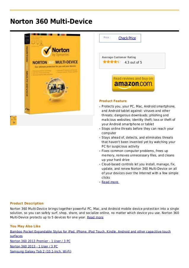 Norton 360 Multi-Device                                                               Price :                             ...