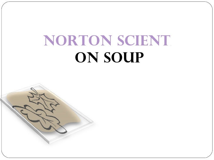 NORTON SCIENTIFIC COLLECTION ON SOUP