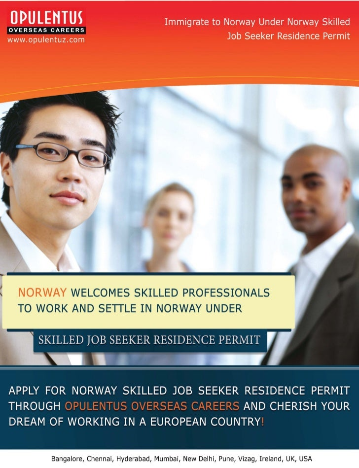 NORWAY WELCOMES SKILLED PROFESSIONALSTO WORK AND SETILE IN NORWAY UNDER     Bangalore, Chennai, Hyderabad, Mumbai, New Del...
