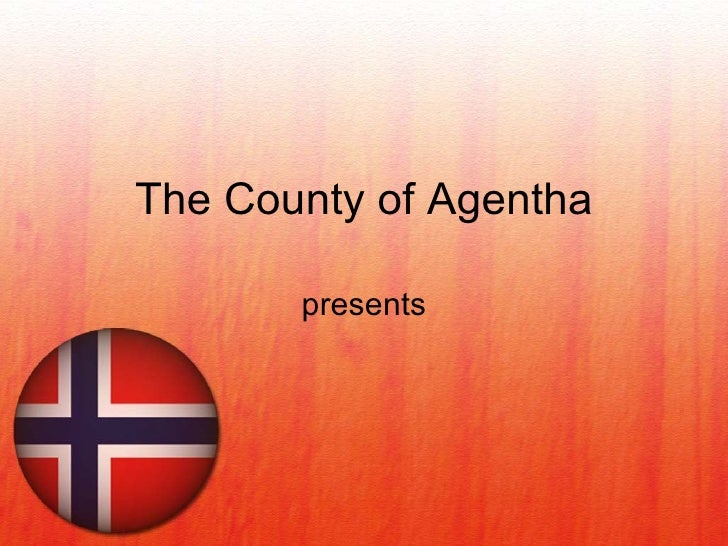 Norway Flag PowerPoint Presentation Template