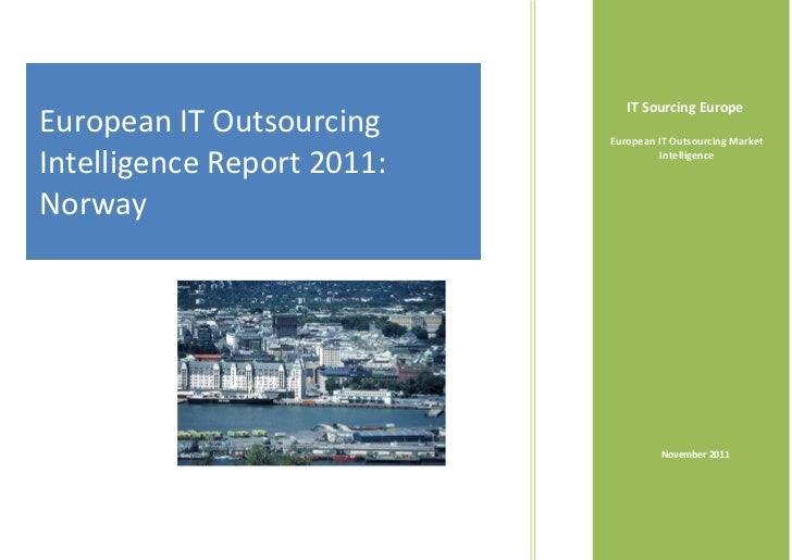 Norway's IT Outsourcing Intelligence Report 2011