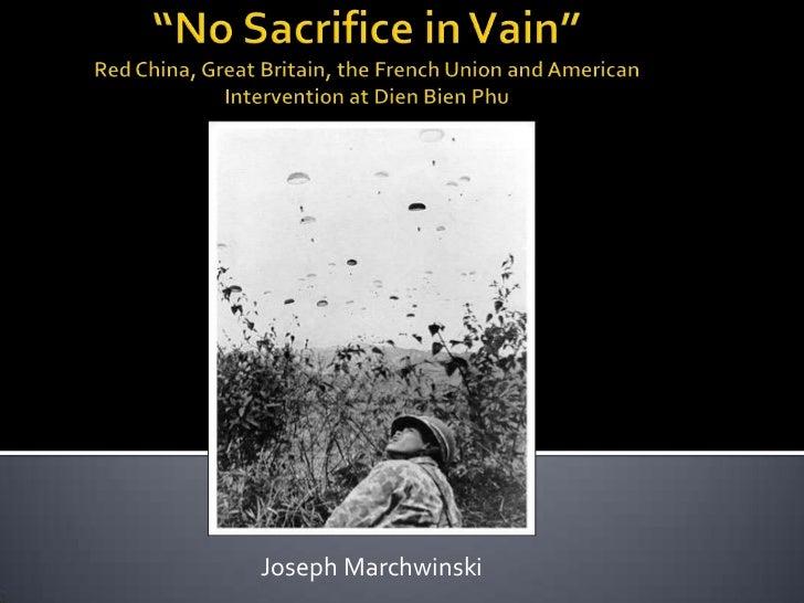 No Sacrifice In Vain Pp