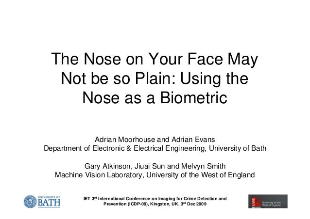Nose as a Biometric