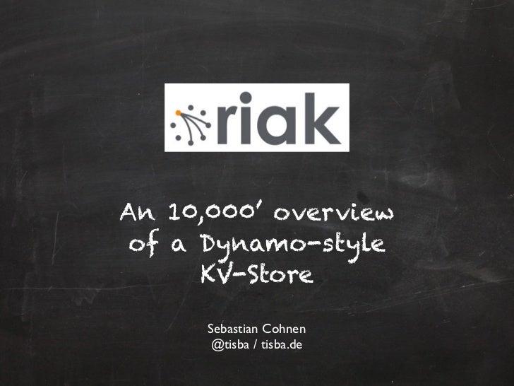 NoSQL CGN: Riak (01/2012)