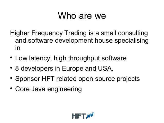 Open source java trading system