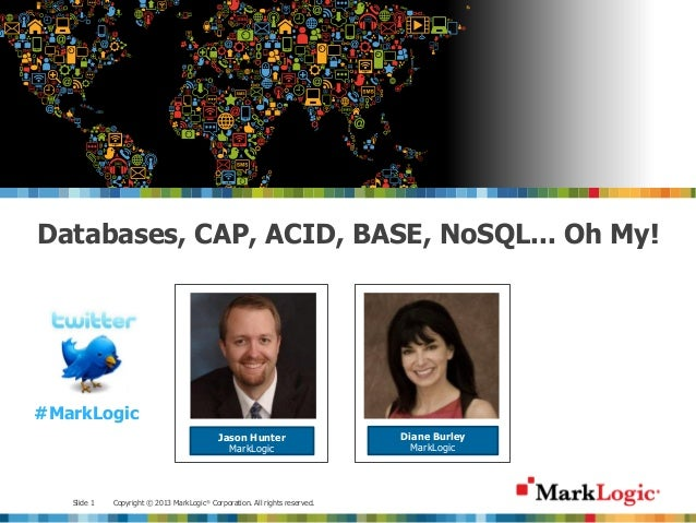 Databases, CAP, ACID, BASE, NoSQL... oh my!