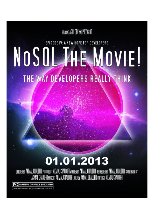 NoSQL The Movie!