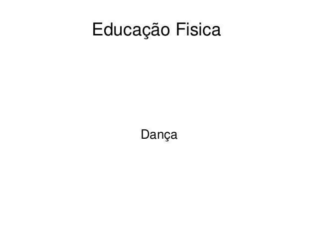 EducaçãoFisica Dança