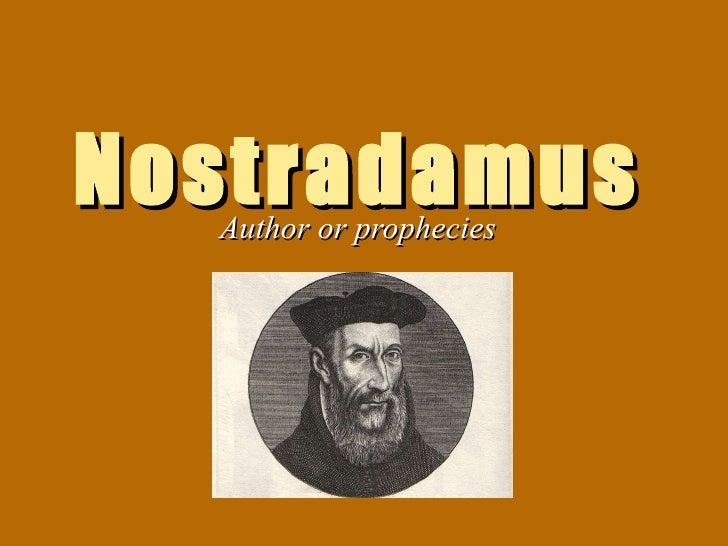 Nostradamus life