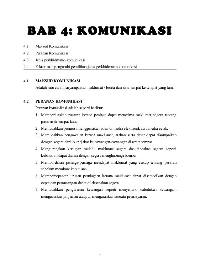Nota bab 4