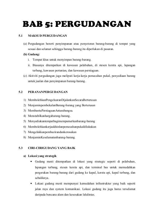 Nota bab 5