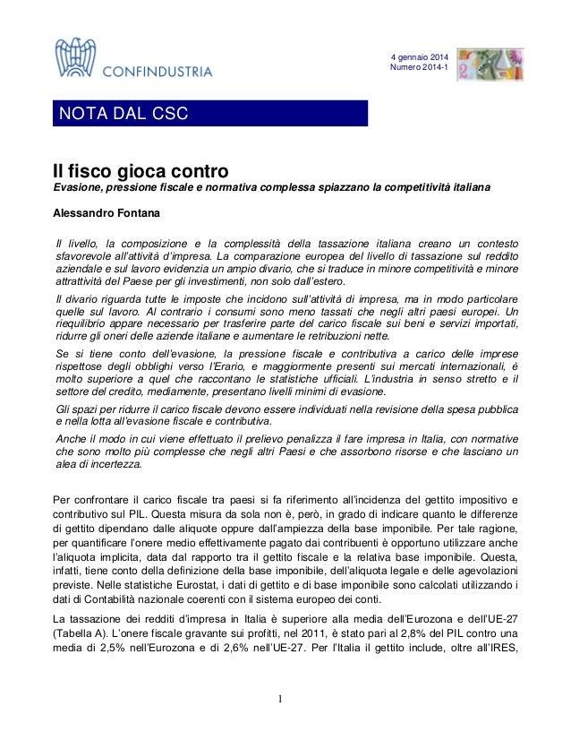 Nota CSC - 2014