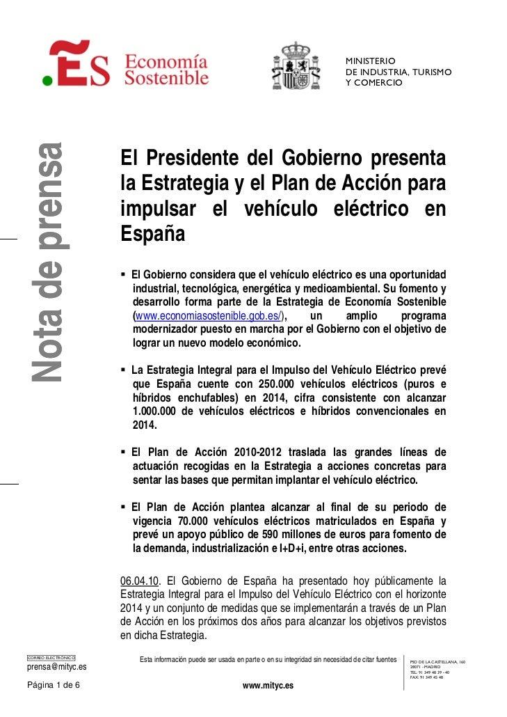 MINISTERIO                                                                                                   DE INDUSTRIA,...