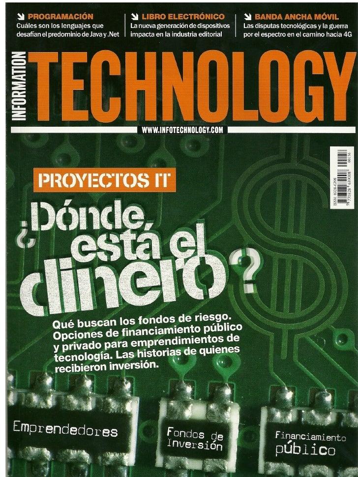 Sumavisos en Revista Information Technology
