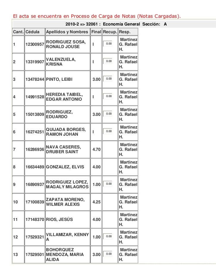Notas definitivas con las recuperaciones 15·03·2011
