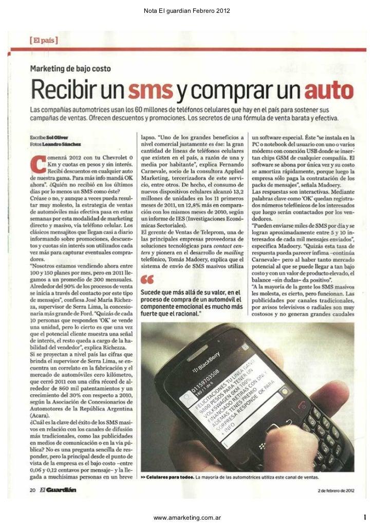 Vender por SMS