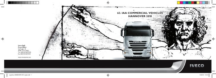 63. IAA COMMERCIAL VEHICLES        HANNOVER 2010