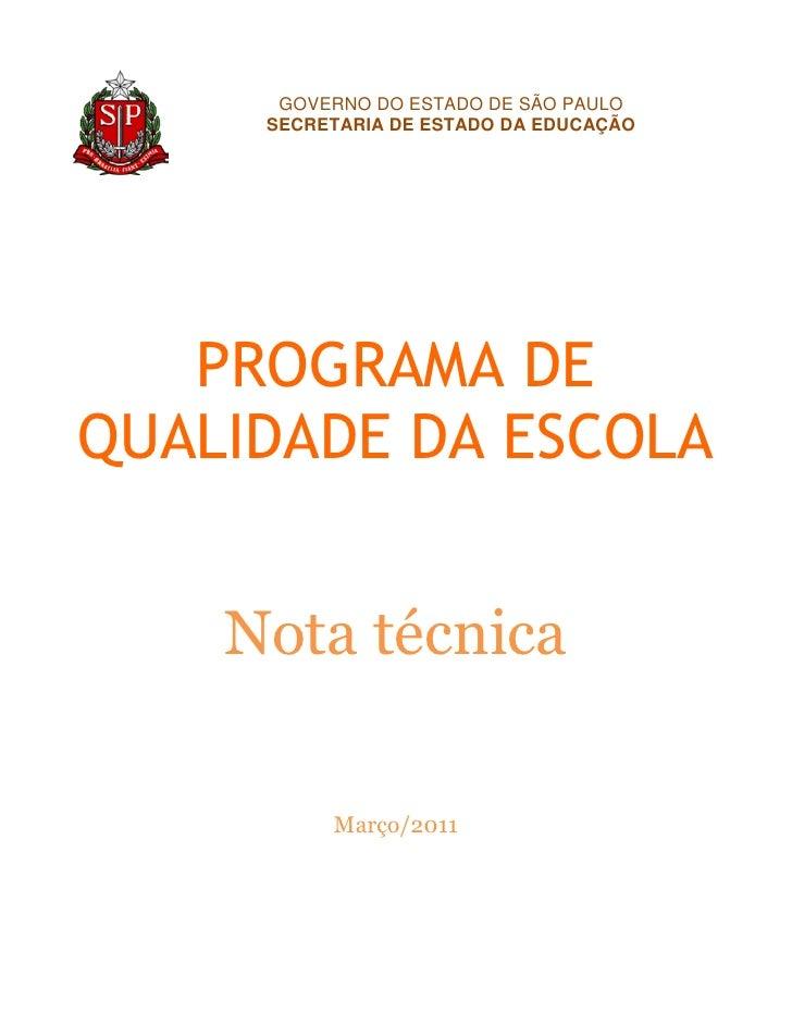 Nota Técnica 2010