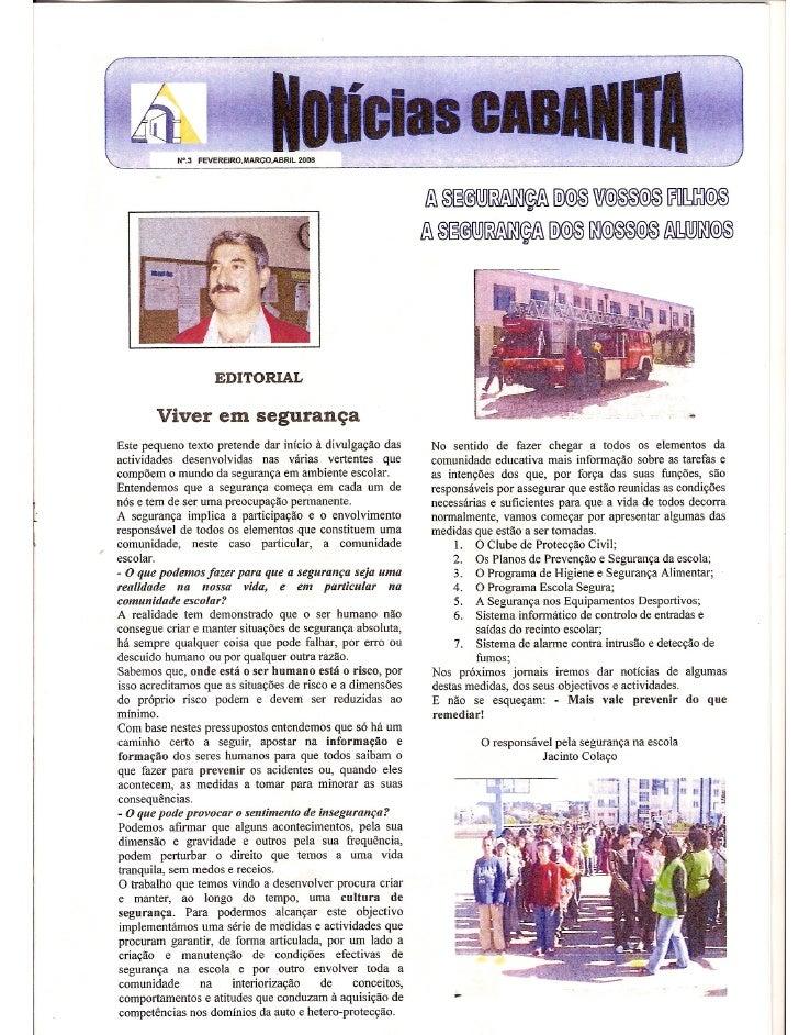 Notícias Cabanita  Nº3