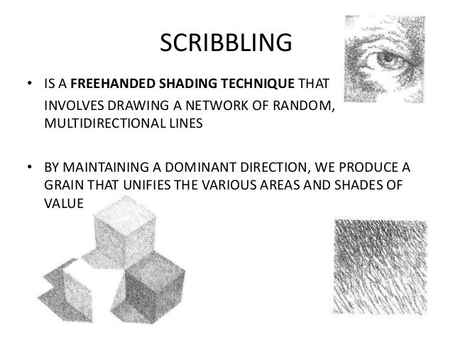 Scribble Drawing Definition : Tone texture
