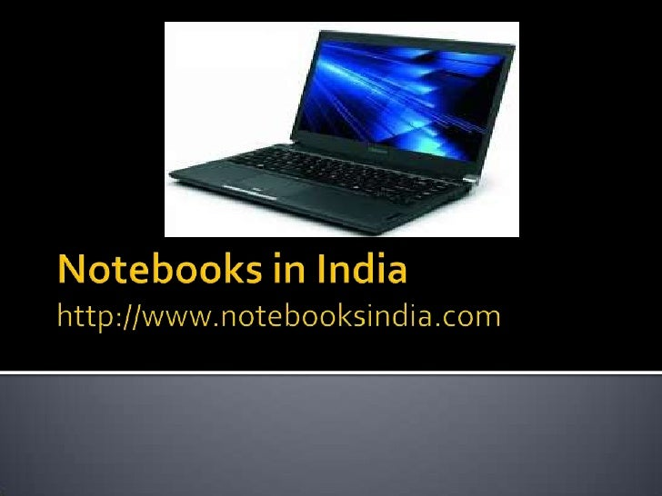 Notebooks in india