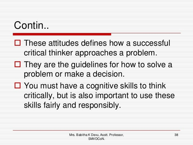 How to develop critical thinking skills in nursing students