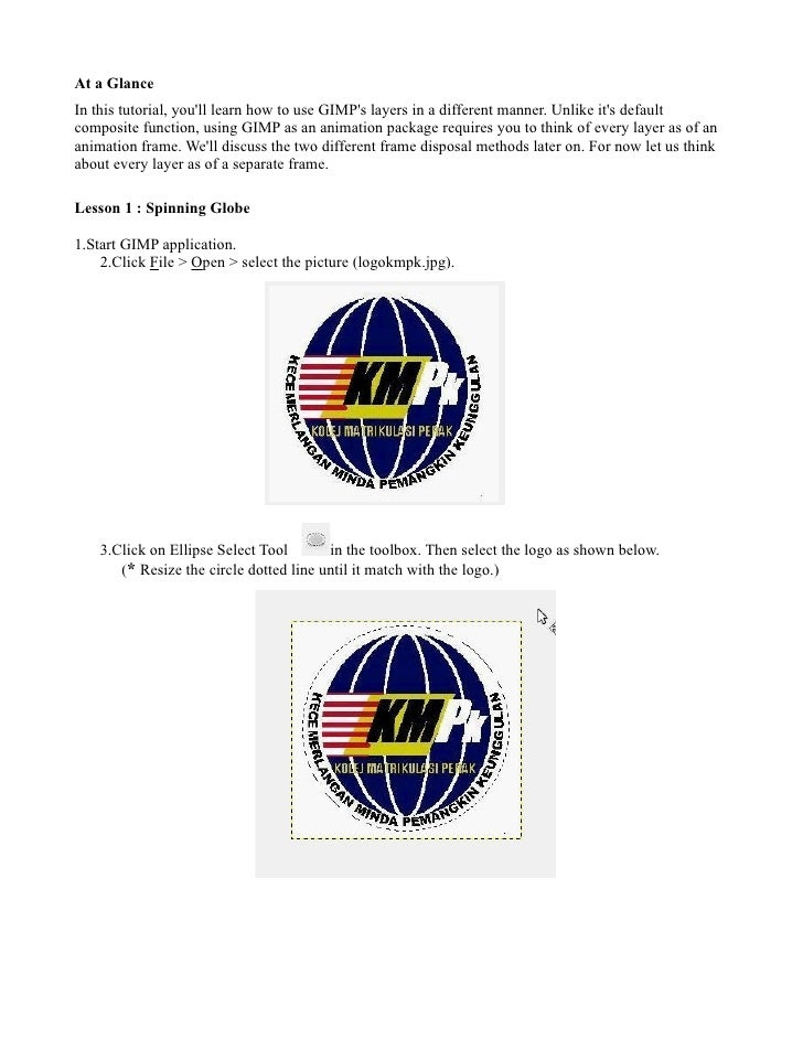 lesson 1 (spinning globe)