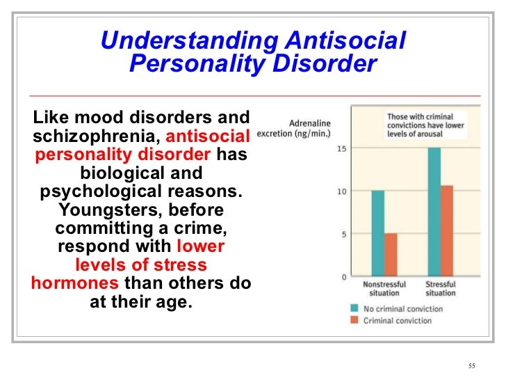 antisocial personality disorder or a sociopath This paper examines the separate but overlapping constructs of psychopathy,  sociopathy, and antisocial personality disorder from evolutionary,.