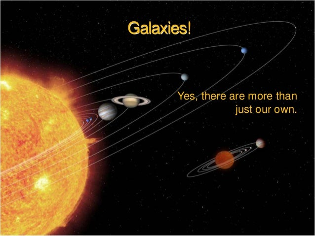 Galaxies!  Yes, there are more than just our own.