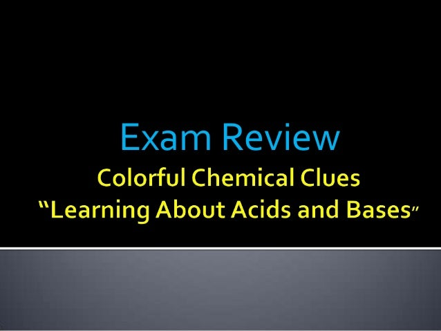 Notes gb lab 09 colorful  chemical clues 2