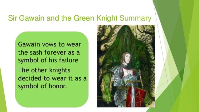 Sir gawain and the green knight essay assignment