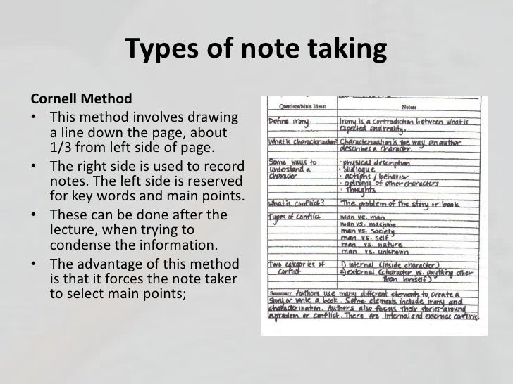 Types Of Line Drawing Algorithm : Note taking reading strategies