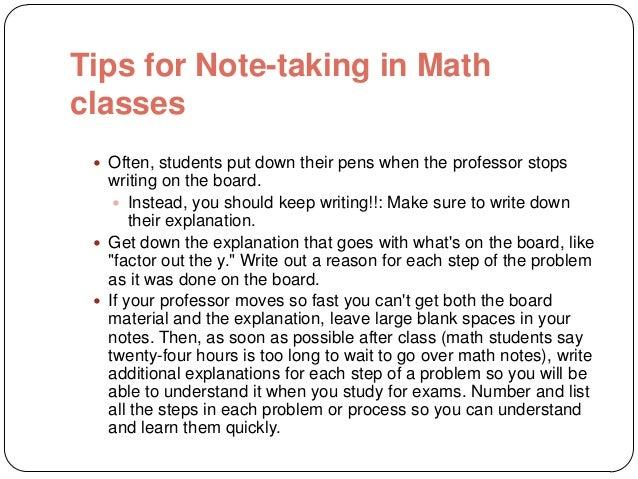 Tips for college freshmen?