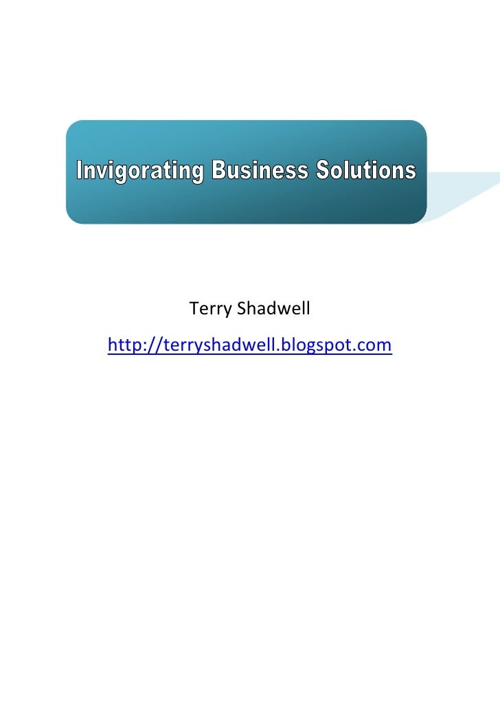 Terry Shadwell http://terryshadwell.blogspot.com