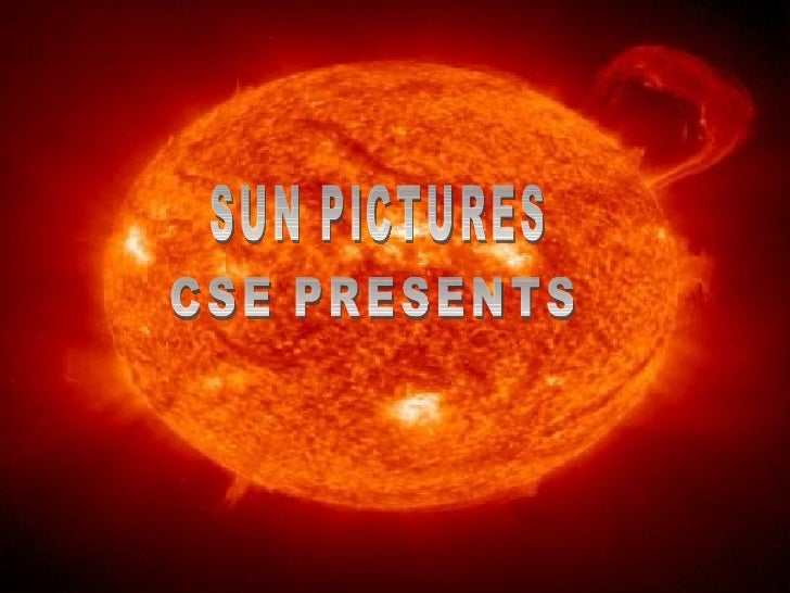 SUN PICTURES CSE PRESENTS