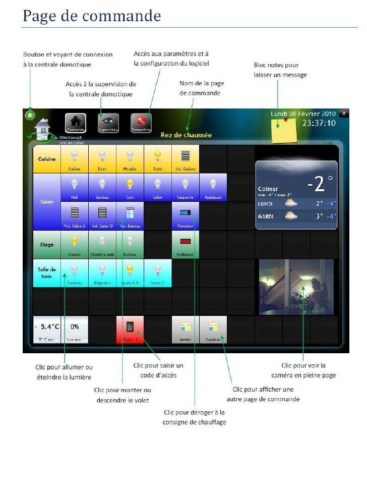 Domotique Energie Technicube Pilotage iPad